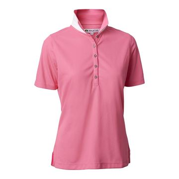 Golf polo dame quick dry, pinklemon, Backtee