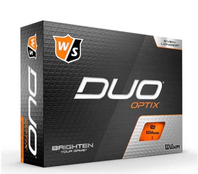 Golf bolde Wilson Staff Duo+ Optix farvede