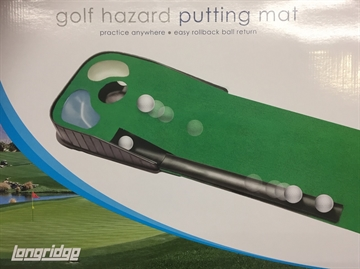 Golf Hazard Putting Mat
