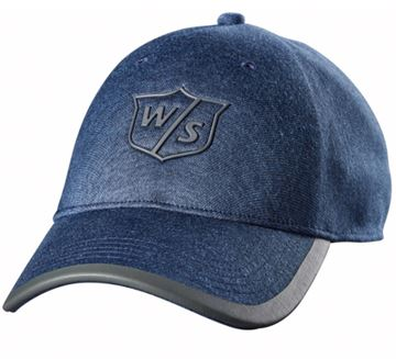 Wilson Staff cap, denim